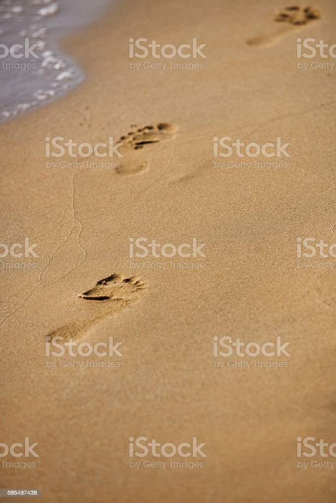 Beach travel stock photo