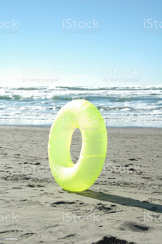 Beach Tube royalty-free stock photo