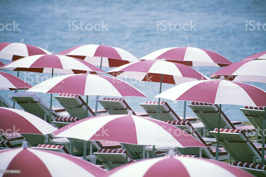 Beach Umbrella royalty-free stock photo