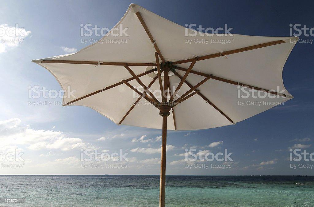Beach Umbrella royalty-free stock photo
