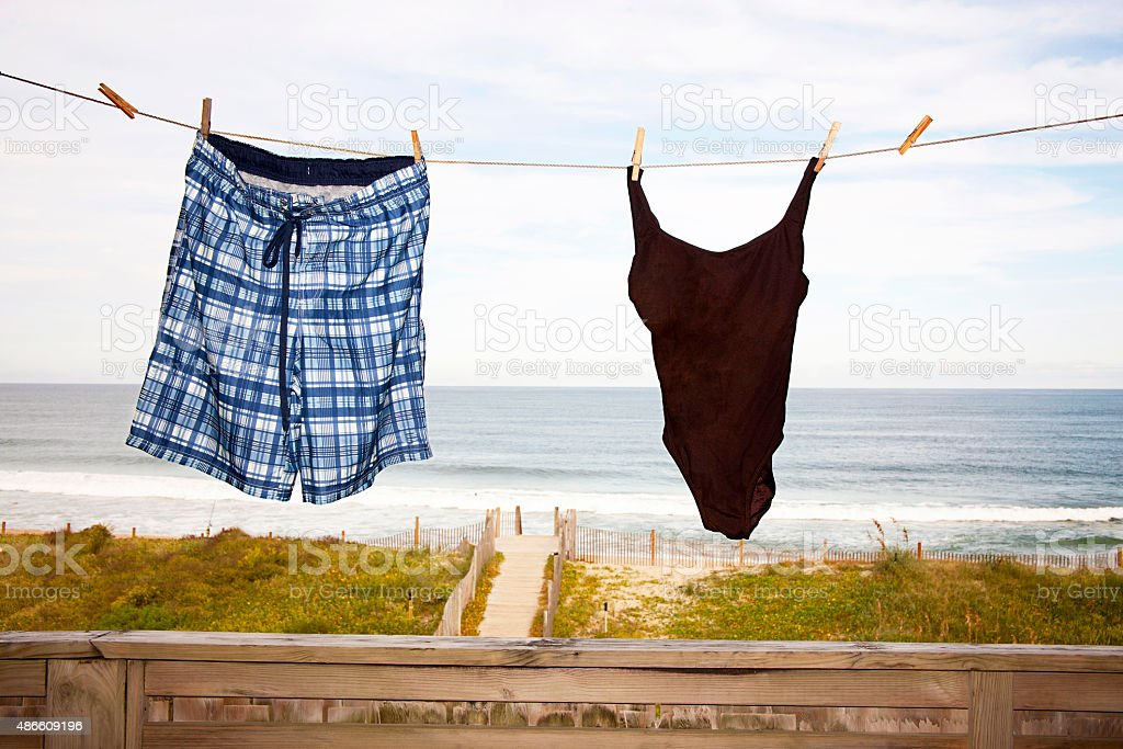 Beach Vacation Concept stock photo