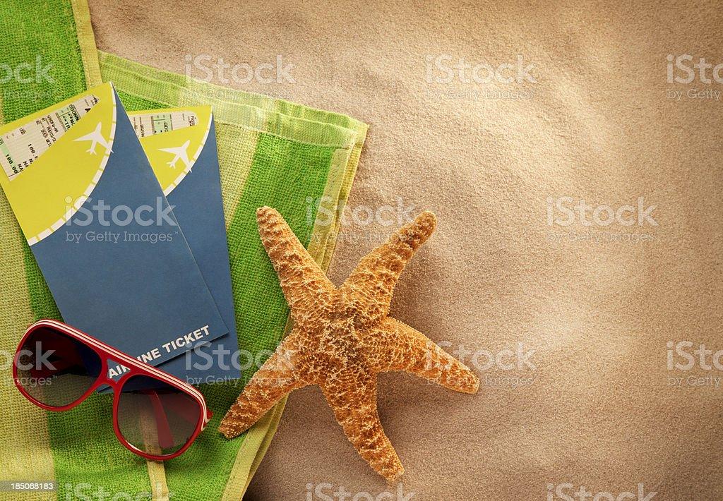 Beach Vacation royalty-free stock photo