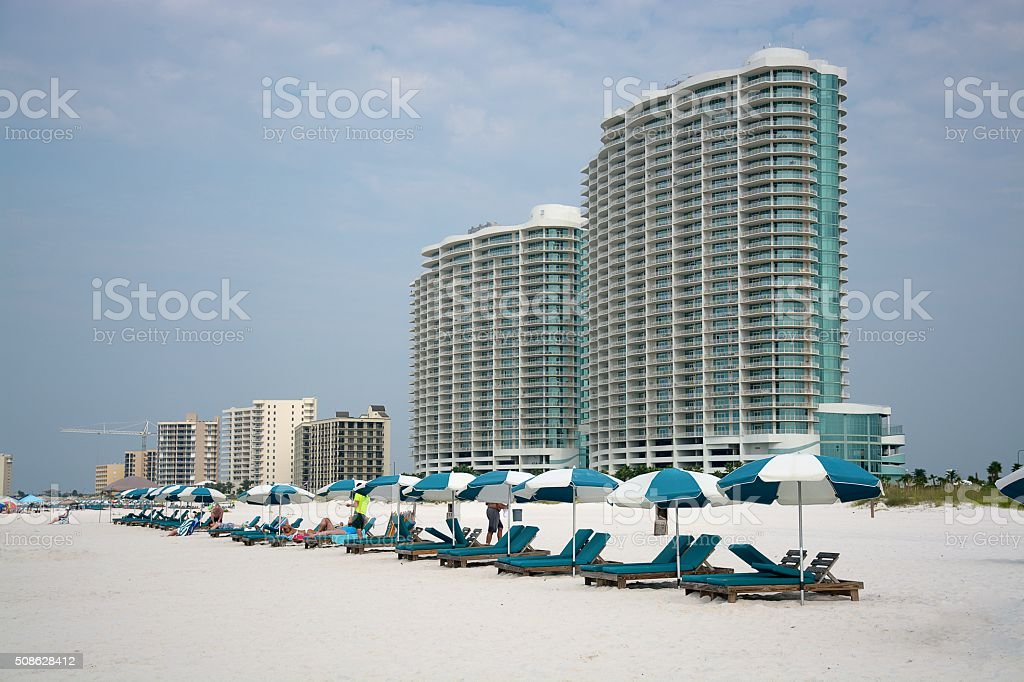 Beach Vacation stock photo