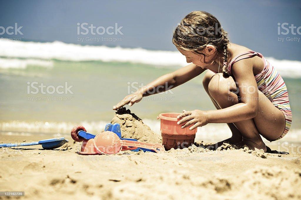 Beach vacations royalty-free stock photo