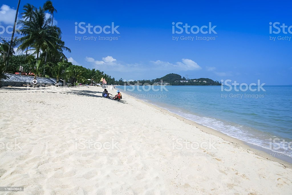 beach vendor lamai ko samui thailand royalty-free stock photo