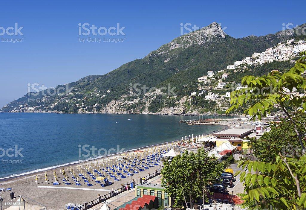 spiaggia - vietri royalty-free stock photo