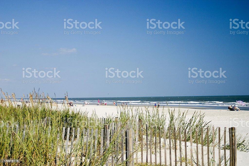 Beach View 2 stock photo