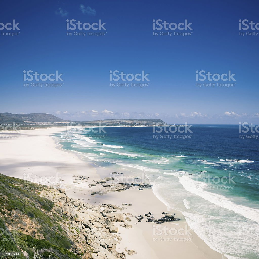 Beach View Cape Town,South Africa stock photo