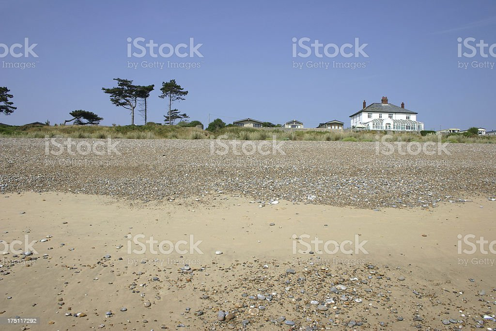Beach View Holiday Park stock photo