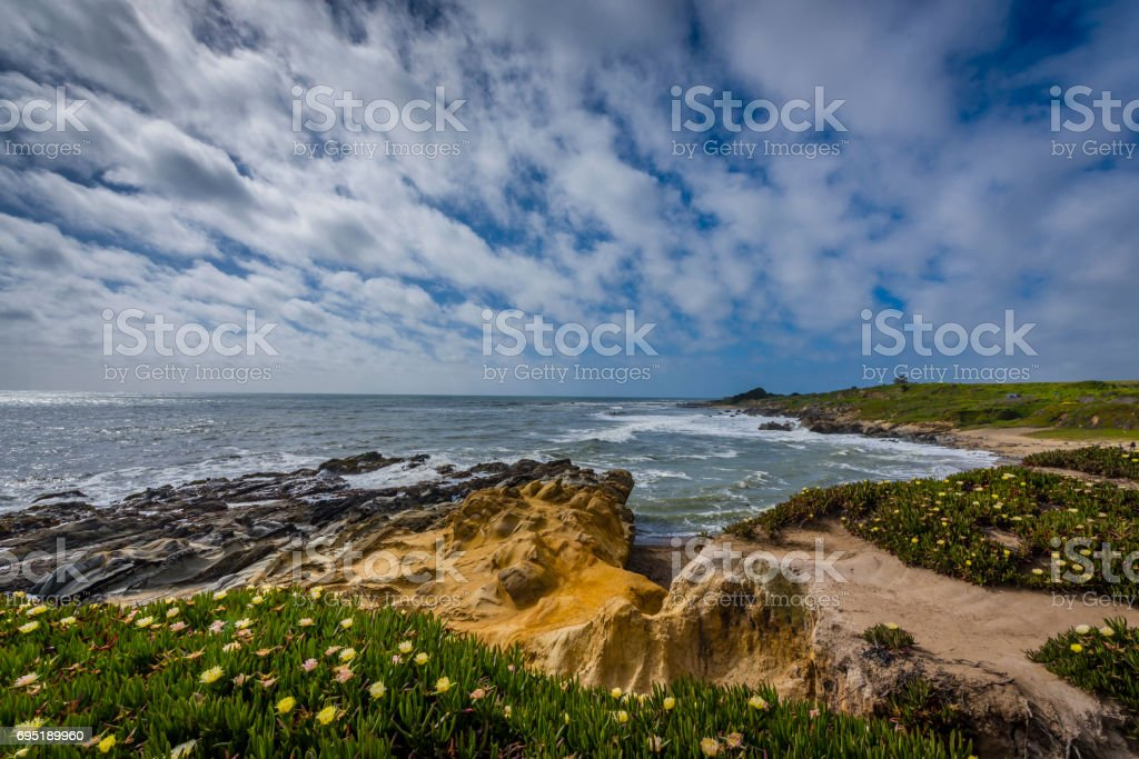 Beach view near California 1 stock photo