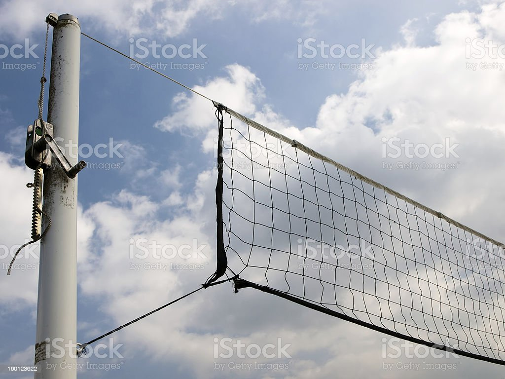 Beach volley ball royalty-free stock photo