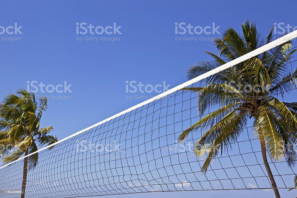 Beach volley net # 1 XXXL royalty-free stock photo