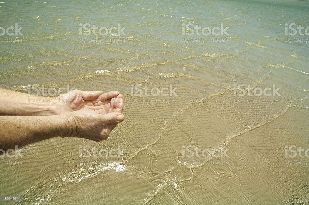 Beach Water royalty-free stock photo