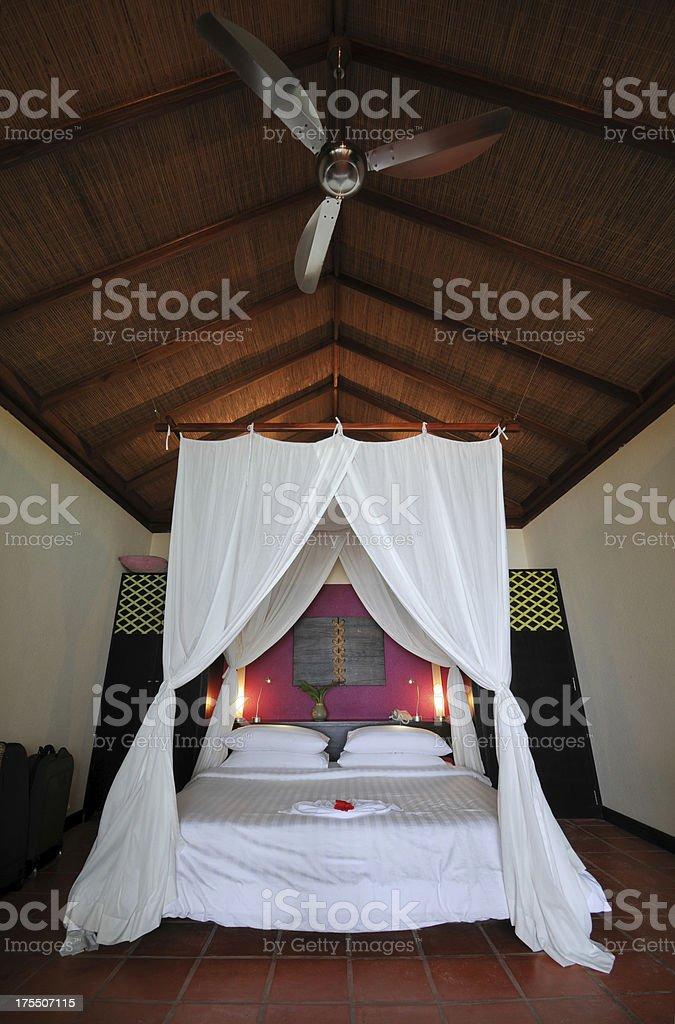 Beach Water Villa House Interior - XLarge royalty-free stock photo