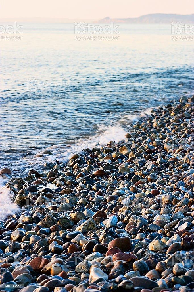 Beach waves stock photo