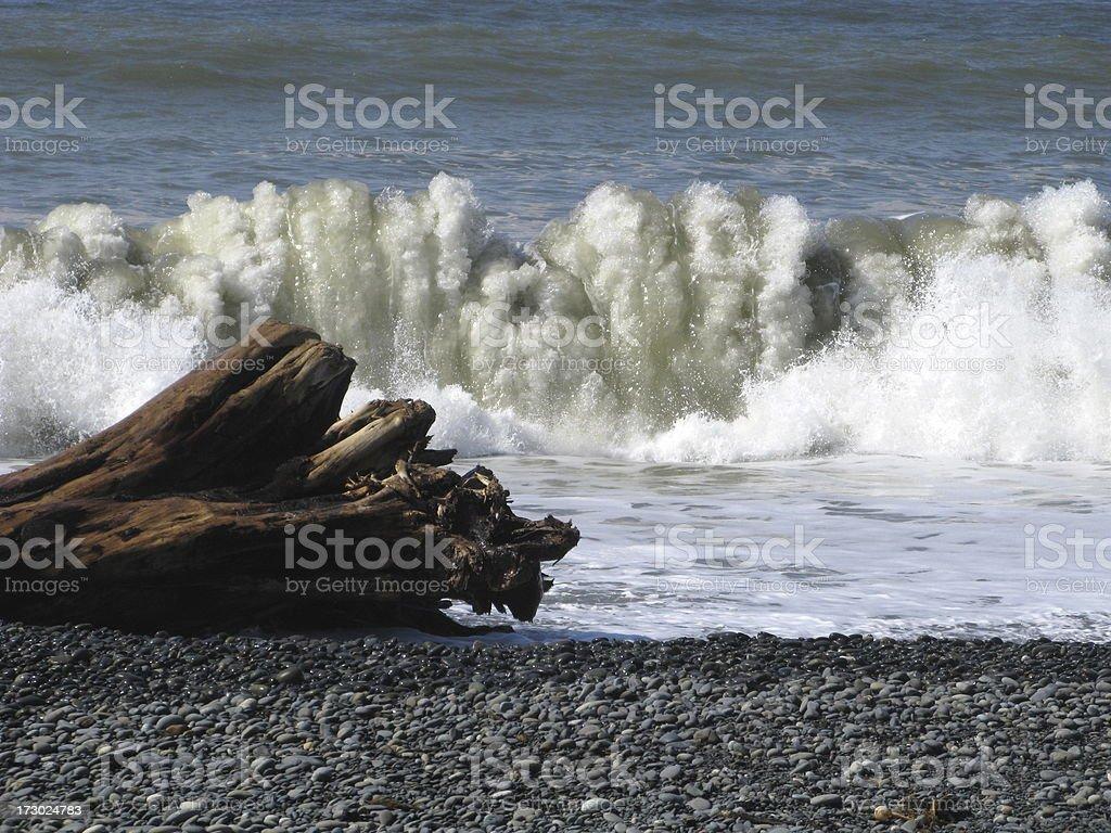 Beach Waves Surf stock photo