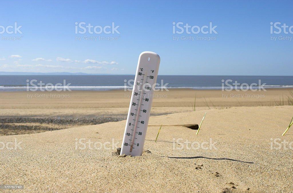 beach weather royalty-free stock photo