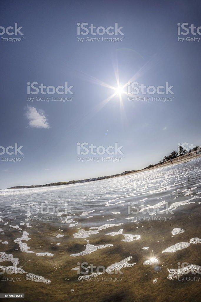 Beach Weather stock photo