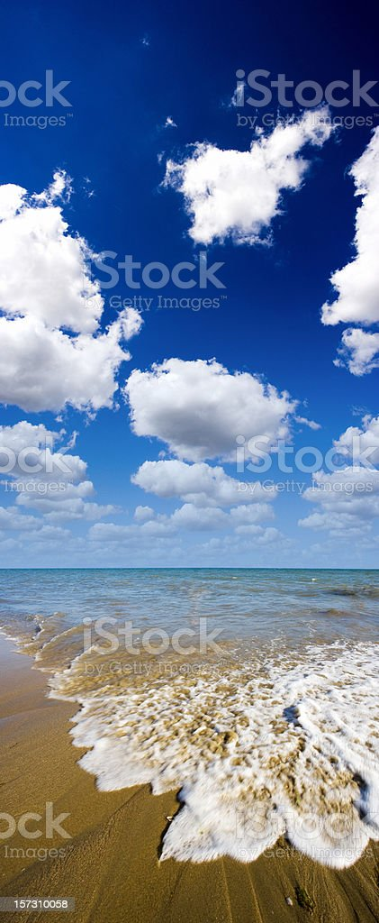 Beach XXL royalty-free stock photo