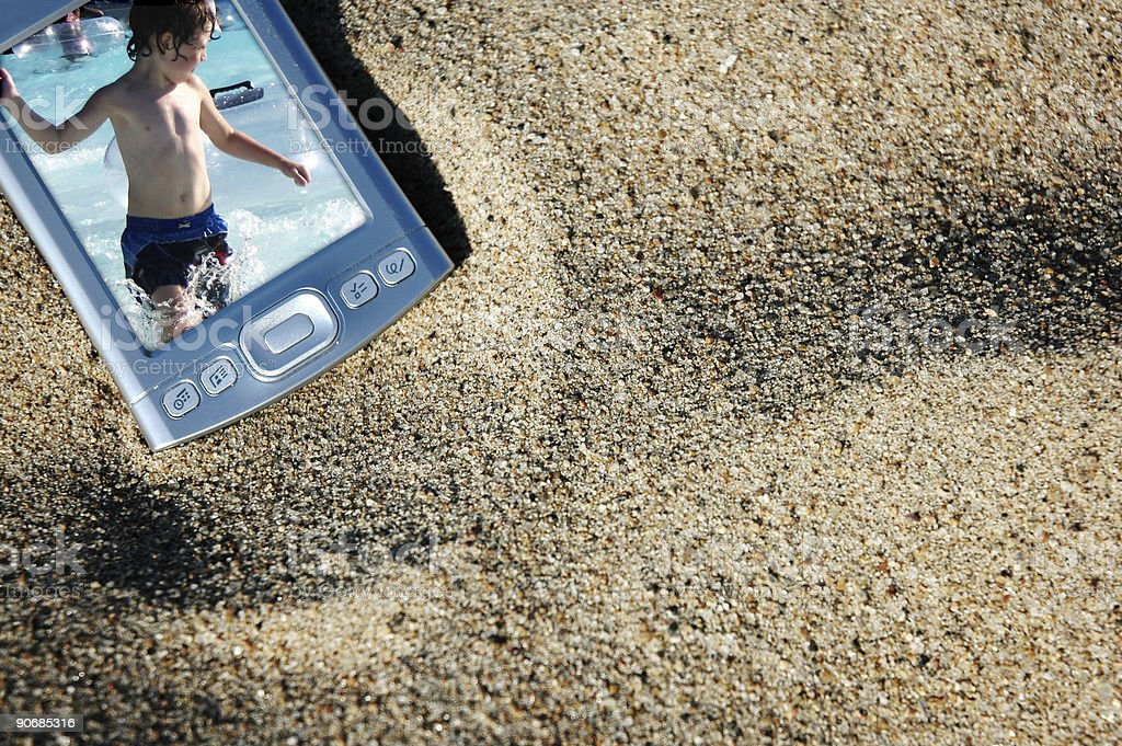 beached pda8a royalty-free stock photo