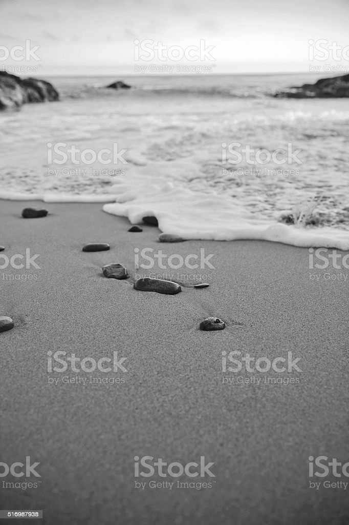 Beaches and Zen stock photo