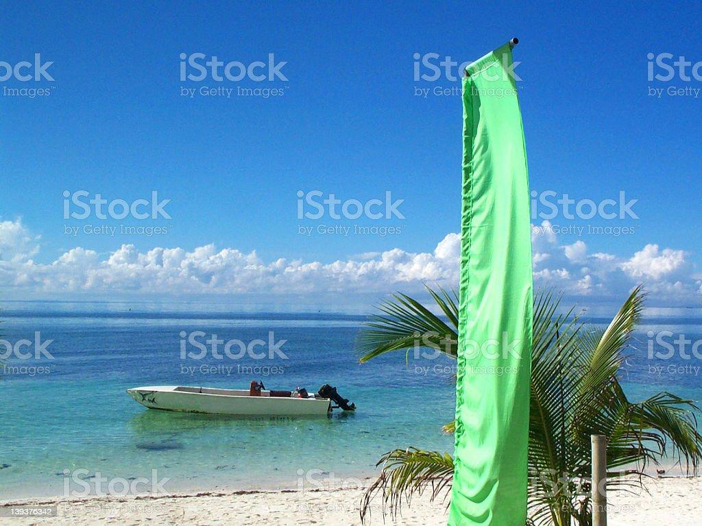Beachfront royalty-free stock photo