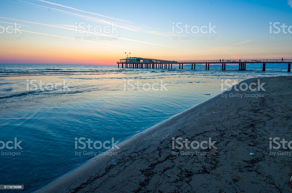 Beach,italy stock photo