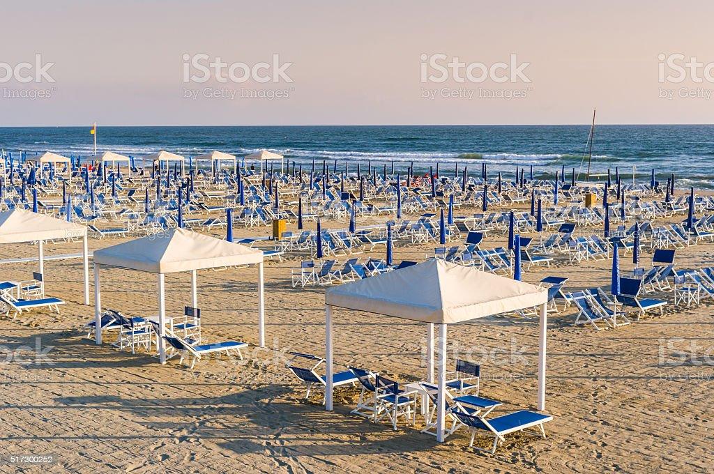 Beach,italy,europe stock photo
