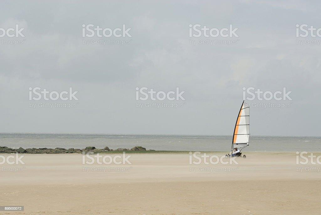 BeachSailing-02 stock photo