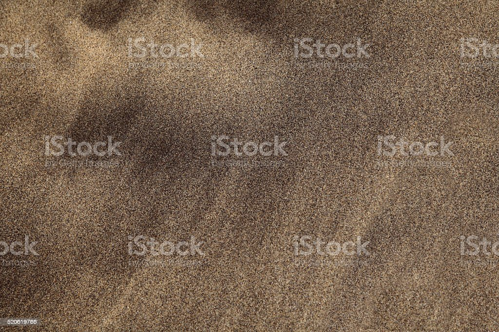 Beachsand from lava stock photo
