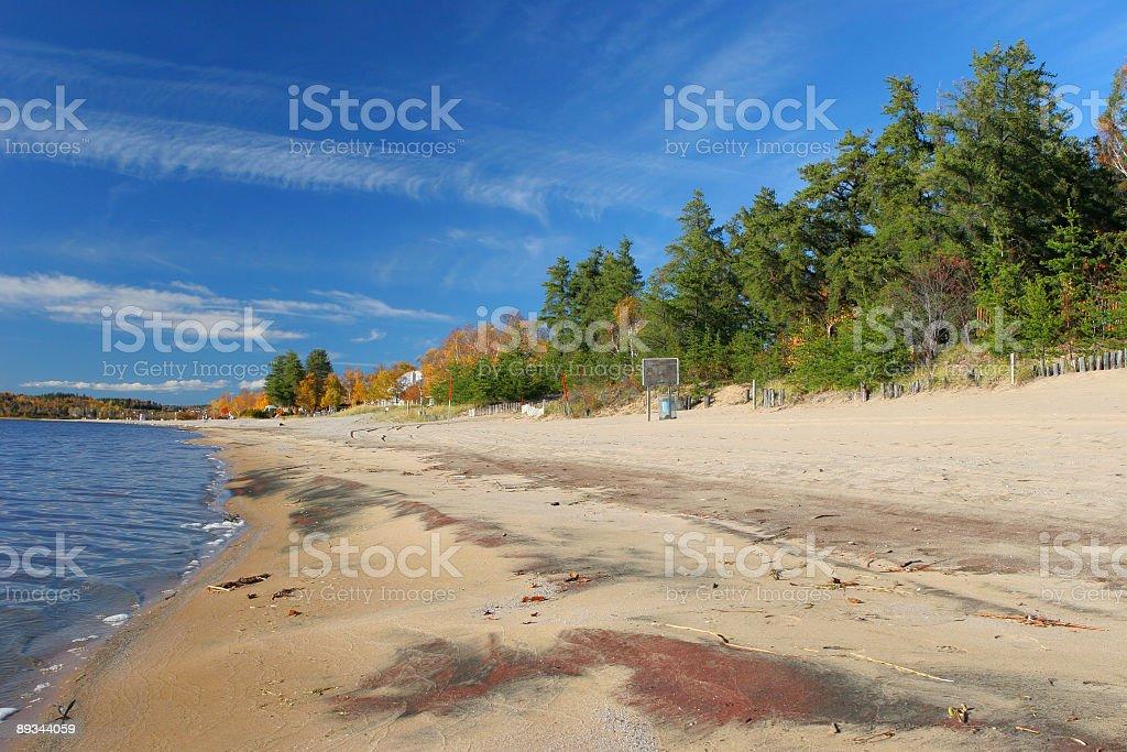 Beachscape royalty-free stock photo
