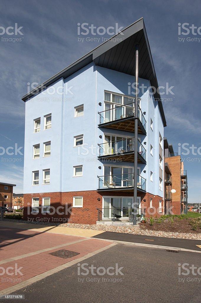 Beachside properties stock photo