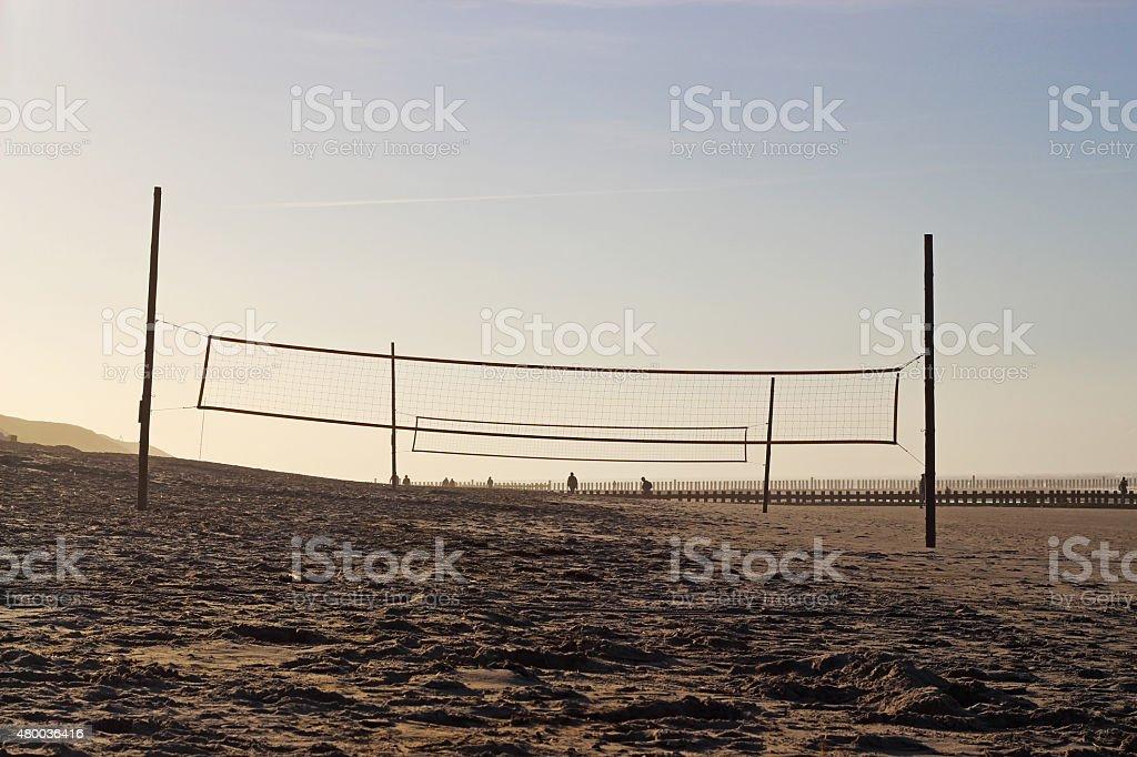 Beachvolleball 01 stock photo