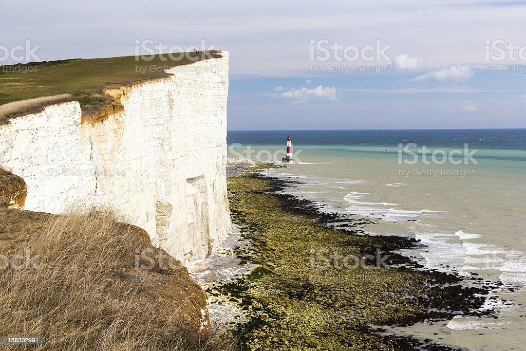Phare de la plage photo libre de droits