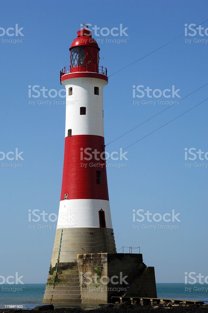 Beachy Head Lighthouse royalty-free stock photo