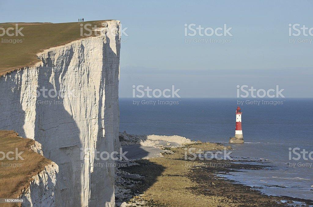 Beachy Head Lighthouse royalty-free stock photo