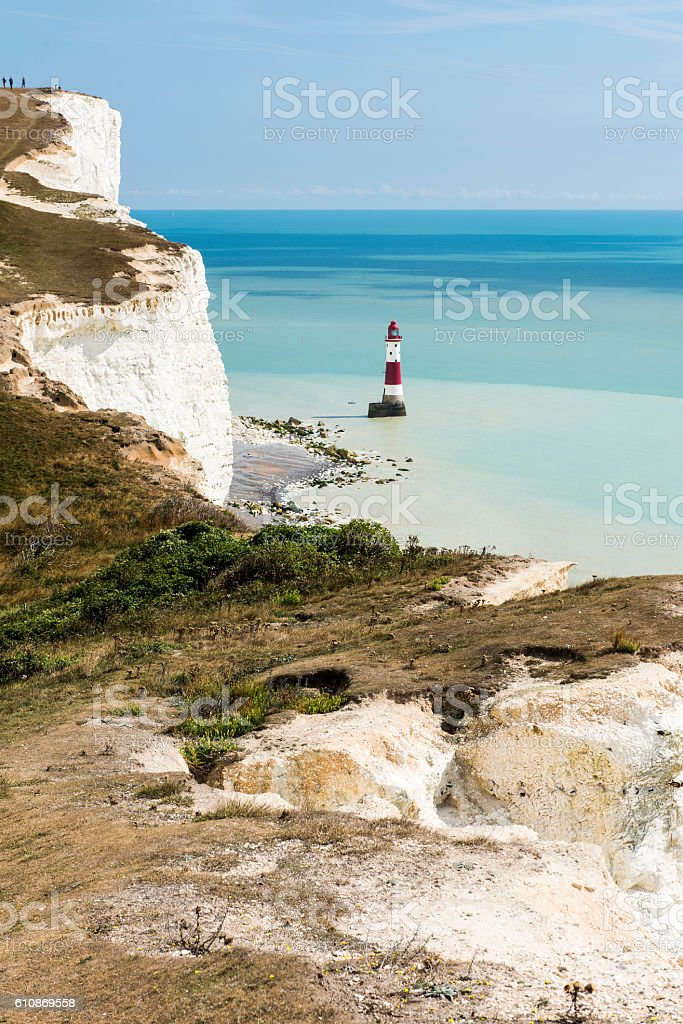 Beachy Head Lighthouse stock photo