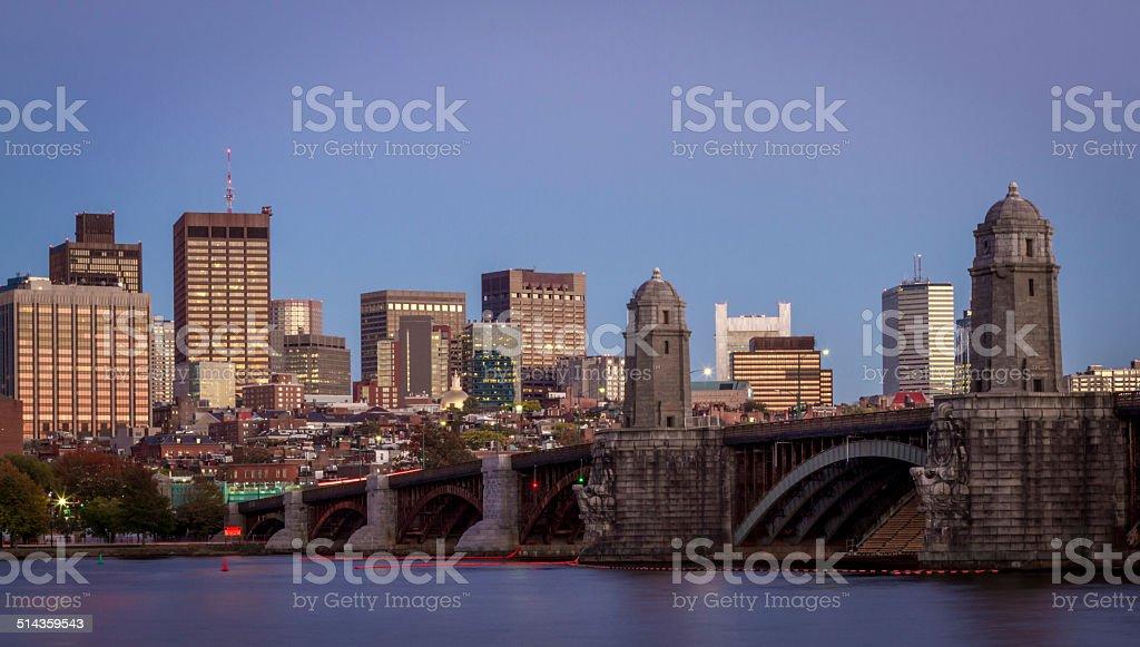 Beacon hill, Boston, MA stock photo