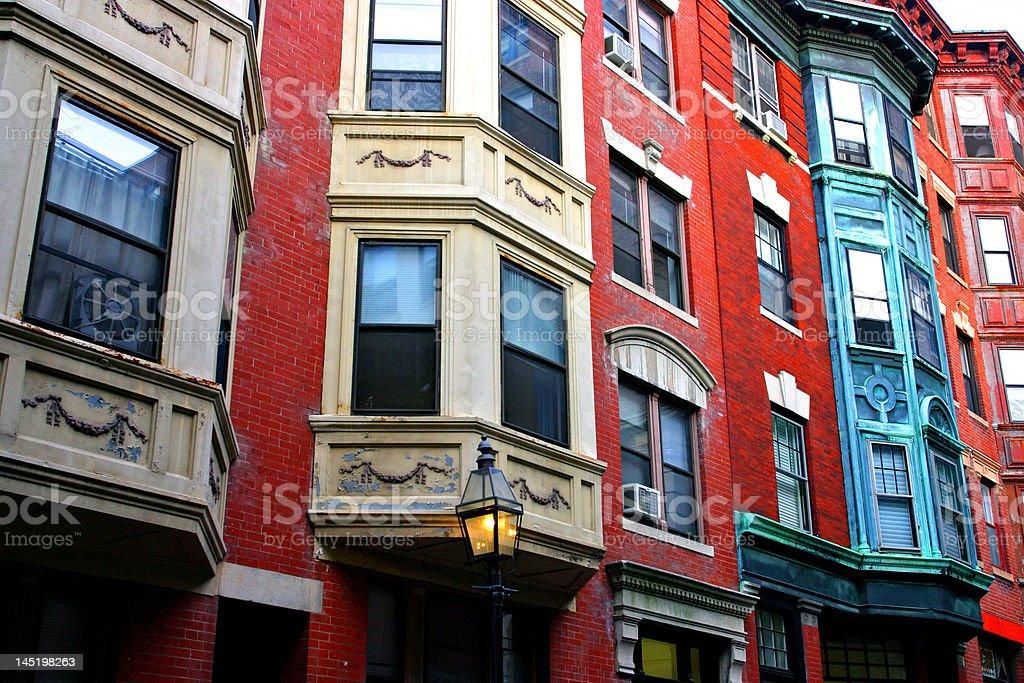 Beacon Hill, Boston royalty-free stock photo