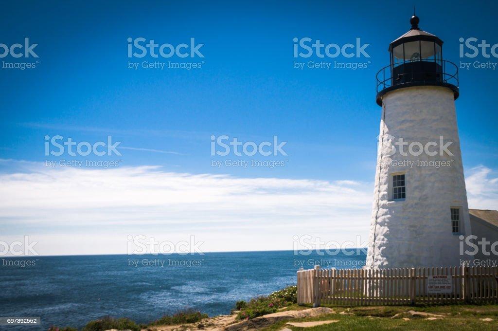 Beacon to the Sea stock photo