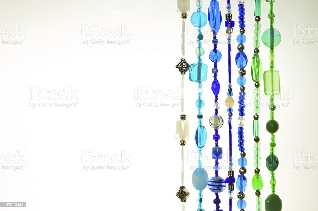 Bead Strings royalty-free stock photo