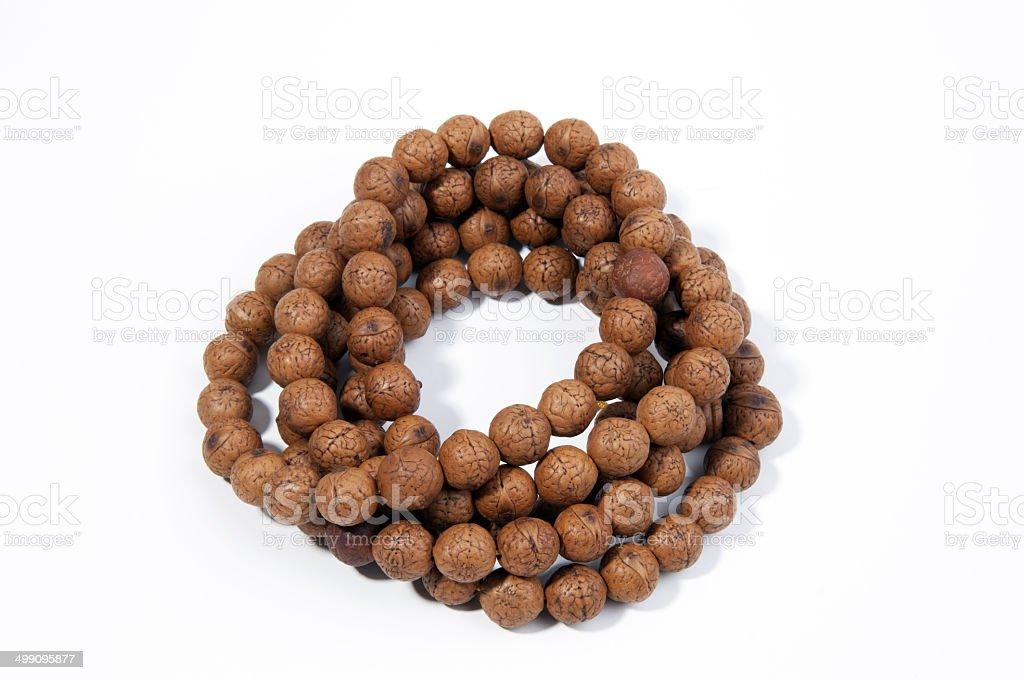 Beads closeup stock photo