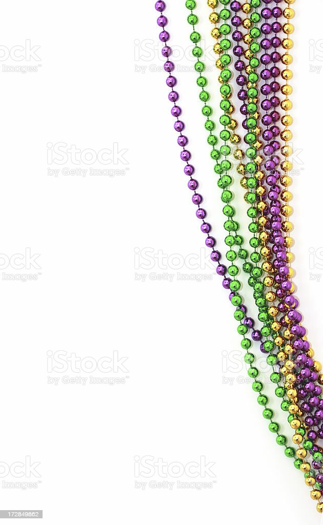 Beads Isolated royalty-free stock photo