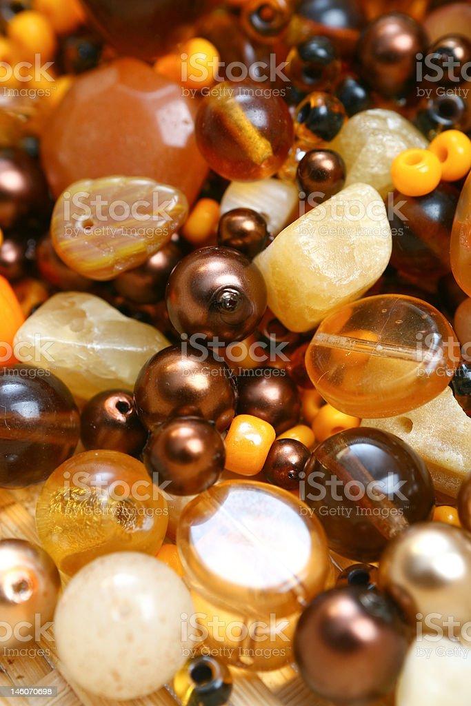 Beads royalty-free stock photo