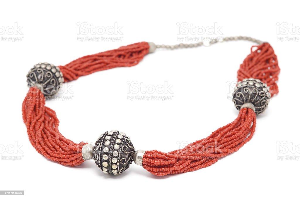 Beads. stock photo