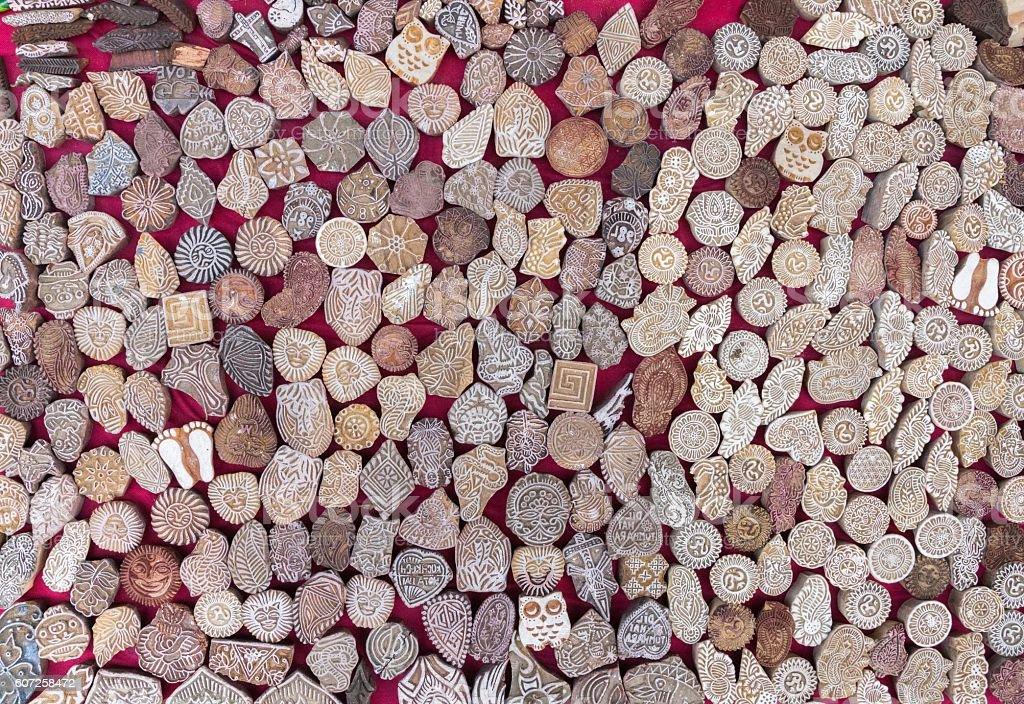 Beads Rosary Tibetan jewelry stock photo