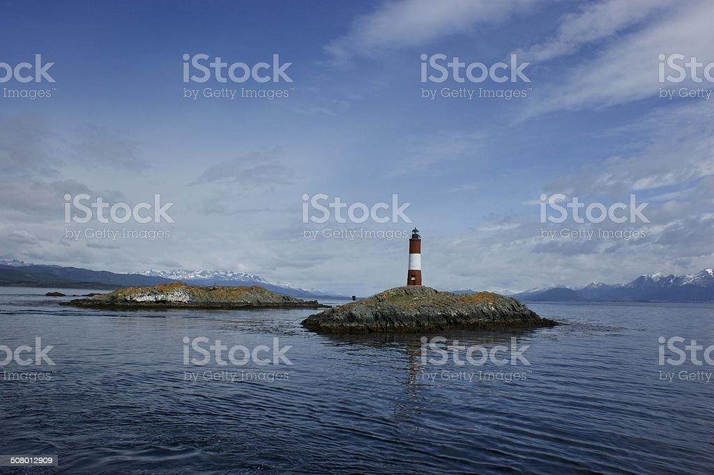 Beagle Channel Lighthouse stock photo