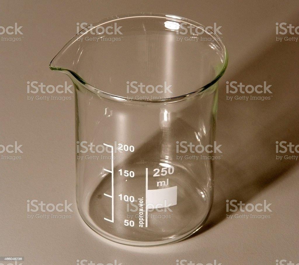 beaker stock photo