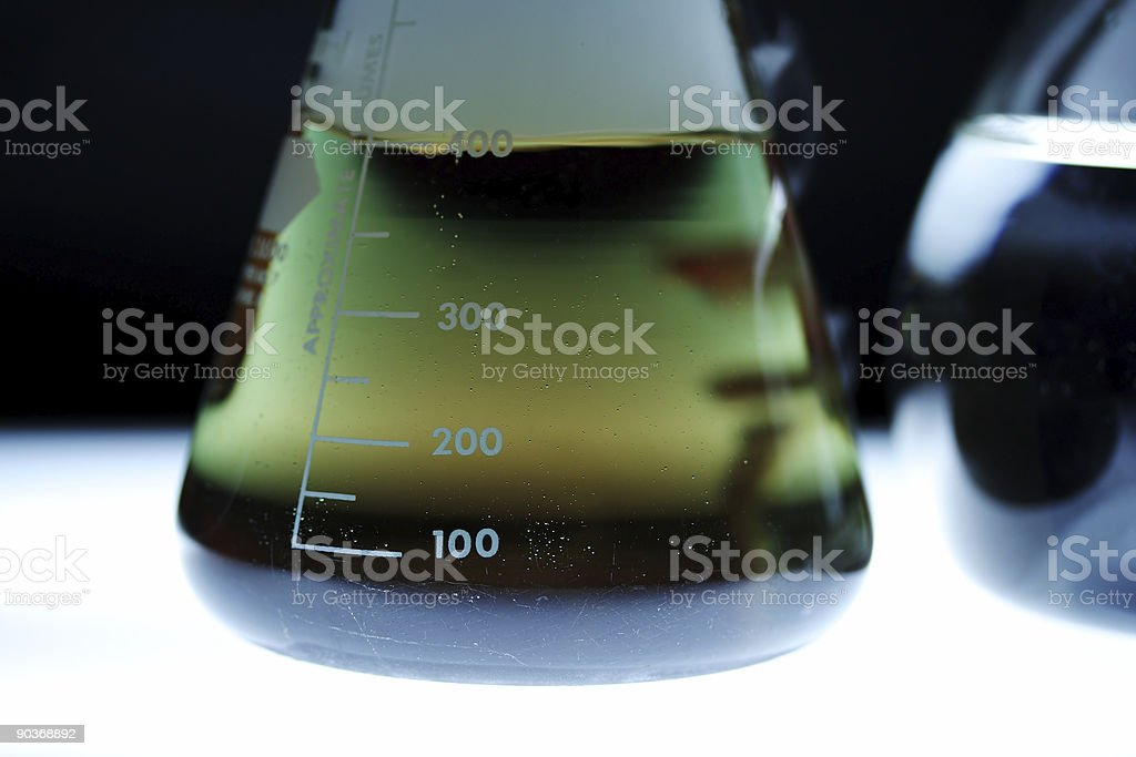 Beaker stock photo
