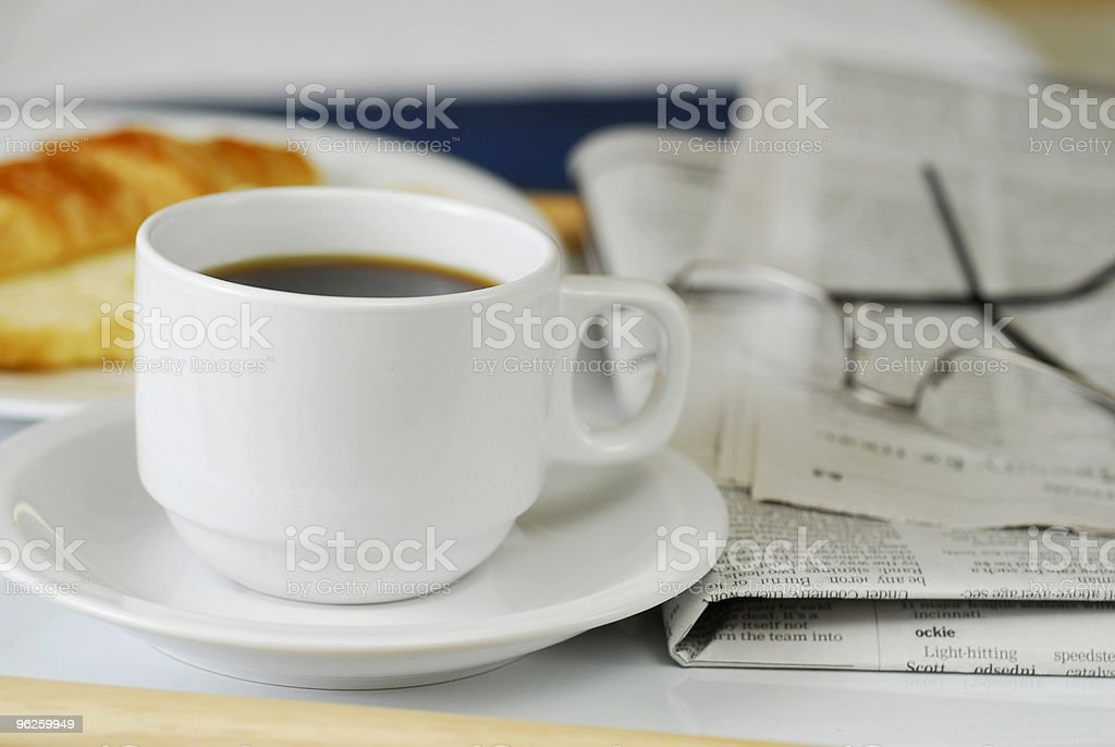 Beakfast in Bed royalty-free stock photo